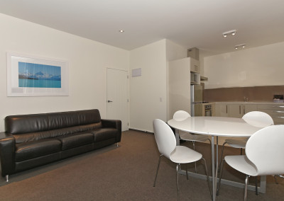 Two Bedroom Unit Dining